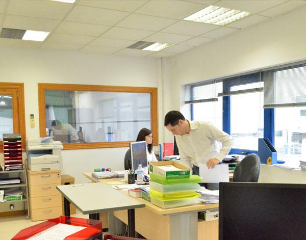 imagen de las oficinas